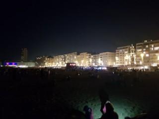Oostende bij nacht